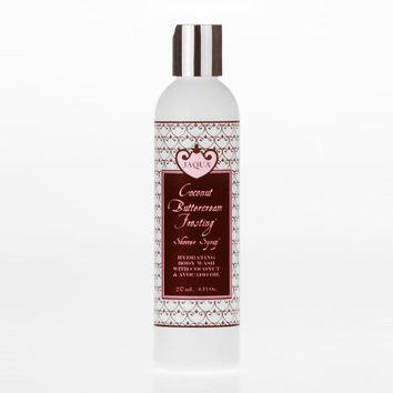Coconut Buttercream Frosting Hydrating Shower Syrup