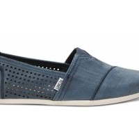 TOMS+ Navy Perforated Men's Classics