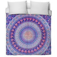 Tapestry-designed bed set