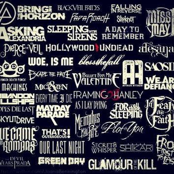 Screamo Band Logos From Gallery4share