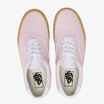 VANS Era 59 Doudle Light Gum  Pink fashion casual shoes