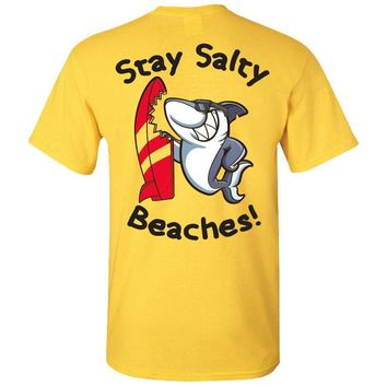 Stay Salty Beaches Southern Charm Collection on a Daisy T Shirt