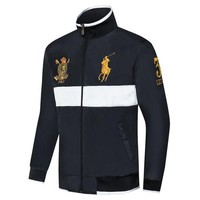 Polo Ralph Lauren autumn and winter men's casual trend wild sports running set two-piece