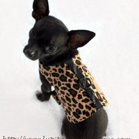 Take a Walk on The Wild Side Animal Print Puppy Dog Harness