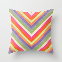 autumn lines Throw Pillow by her art