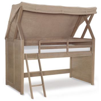 7820 Hudson Mid Loft Bed with Tent by Rachael Ray