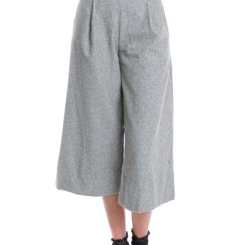 Stepping Off Wide-Leg Culottes