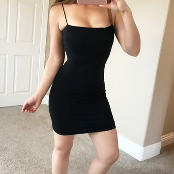 Double Lined Mini Dress