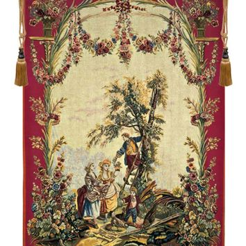 Le temps des cerises (Cherry Time) French Tapestry