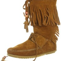 Minnetonka Women's Woodstock Boot Moccasin
