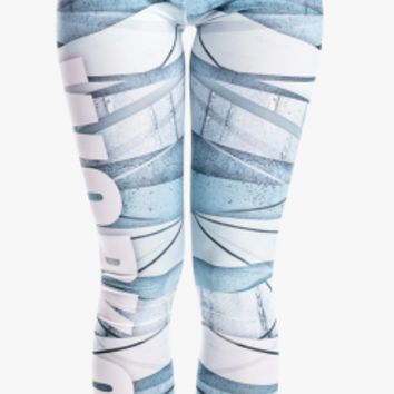 Zohra New Arrival Women Legging Blue Bandage Printing Leggings Fashion Slim High Waist Woman Pants