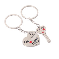 Functional Gift Trendy Hot Sale Creative New Arrival Great Deal Couple Innovative Cartoons Keychain [11496556367]