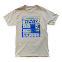 Cutthroat Tee from HUNGRY GHOST PRESS