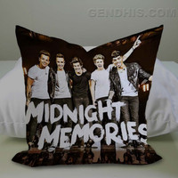 Where We Are Midnight Memories Case, Pillow Cover, Custom Pillow Case