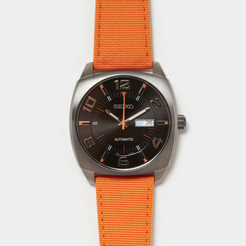 Seiko Orange Recraft Watch