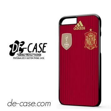 Spain Soccer Jersey DEAL-9849 Apple Phonecase Cover For Iphone 6 / 6S