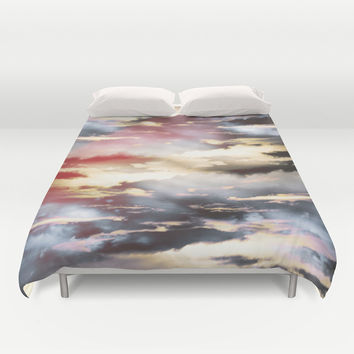 Combateur II Duvet Cover by HappyMelvin Graphicus