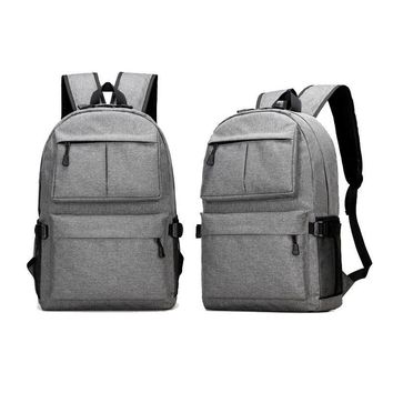 Yesello Backpack High Capacity USB Charge Male Laptop Backpack men women School Bags Backpac
