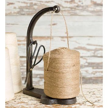 Rustic Twine and Shears Holder