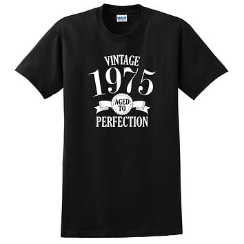 Vintage 1975 aged to perfection, birthday gift, birthday T Shirt