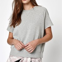 LA Hearts French Terry Cutoff Sleeve Sweatshirt at PacSun.com