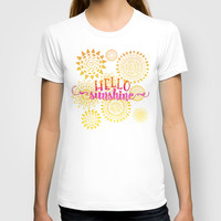 Hello Sunshine T-shirt by Noonday Design
