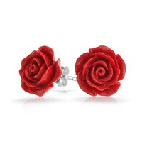 Bling Jewelry Samba Rose Studs