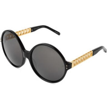 Round Sunglasses - Linda Farrow | WOMEN | US STYLEBOP.COM