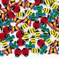 Fun Express - Mini Insect Erasers (1-Pack of 144)
