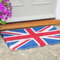 Union Jack Door Mat from Retrophenia | Made By | £22.00 | Bouf