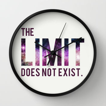 The Limit Does Not Exist - Mean Girls quote from Cady Heron Wall Clock by AllieR