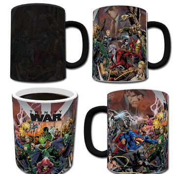 Justice League Trinity War Morphing Mug