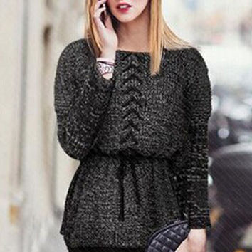 Long Batwing Sleeve Sweaters