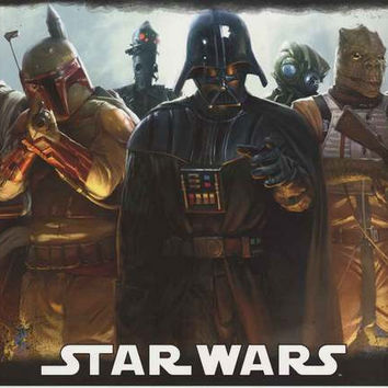 Star Wars Bounty Hunters Poster 22x34