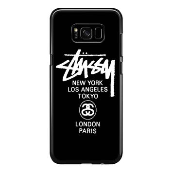 Stussy Tours Samsung Galaxy S8 Plus Case