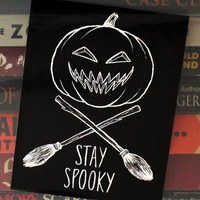 Stay Spooky Halloween Sticker