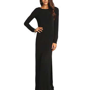 Bcbgeneration Cowl Back Maxi Dress