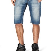 Relaxed Straight Denim Short