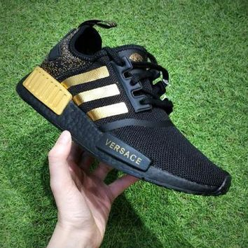 Tagre™ Boys & Men Adidas NMD x Versace Sneakers Sport Shoes