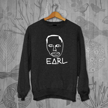 Earl Odd Future OFWGKTA Unisex Adult Long Sleeve T-Shirt Sweater Sweatshirt, for men and women Available Size S,M,L,XL,XXL