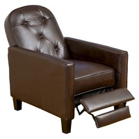 Christopher Knight Home Johnston Tufted Recliner - Brown