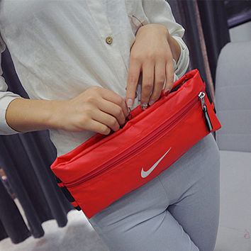 """Nike"" Women Casual Travel Small Bag Handbag Rucksack Gym Bag"