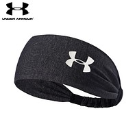 Under Armour Popular Unisex Gym Casual Headband Yoga Running Headwrap Head Hair Band Black