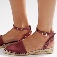 ASOS JINX Studded Two Part Espadrilles