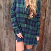 Harper Plaid Tunic - FINAL SALE