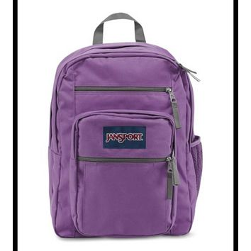 JanSport - Big Student Vivid Lilac Purple Backpack