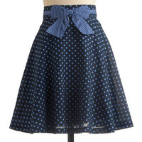 A Chance of Showers Skirt | Mod Retro Vintage Skirts | ModCloth.com