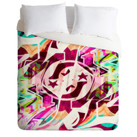 Caleb Troy Tatted Graffiti Duvet Cover