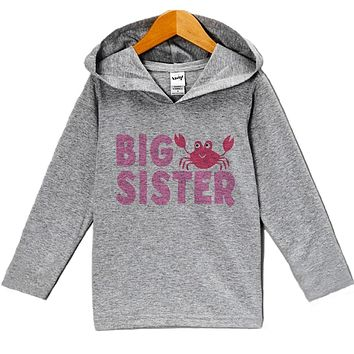 Custom Party Shop Baby Girl's Big Sister Summer Hoodie Pullover