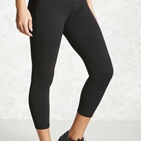 Active Foldover Capri Leggings
